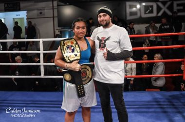 Nailini Helu - UBF Asia Pacific Women's Heavyweight Champion