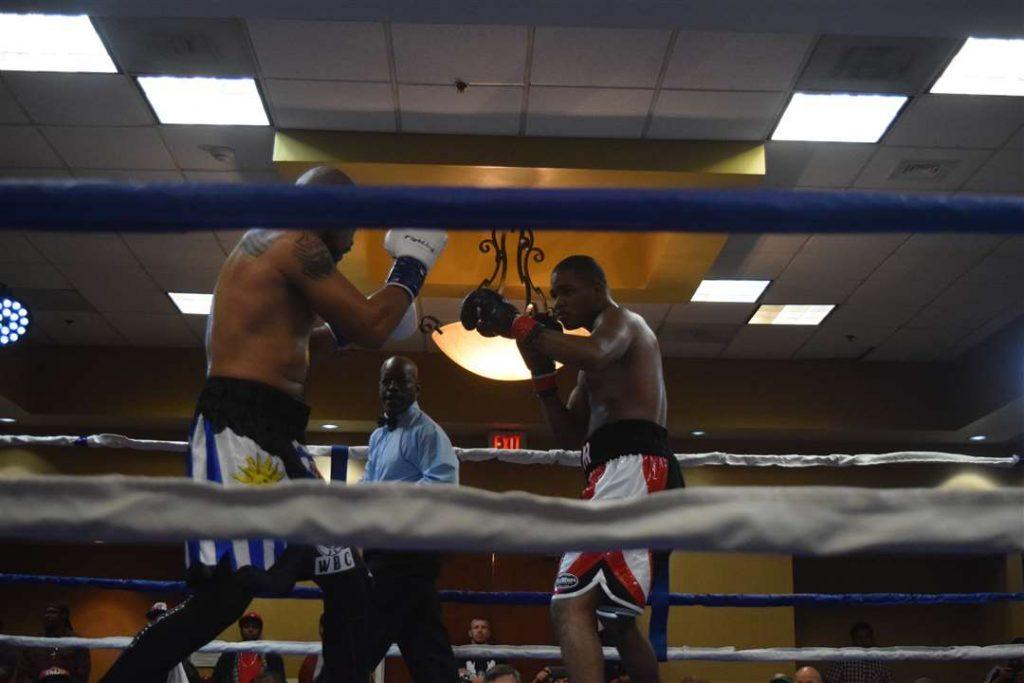 Dimar Ortuz vs Robert Hall Jr