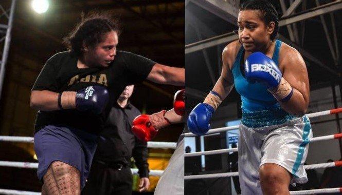 the rematch between Arlie Meleisea and Nailini Helu
